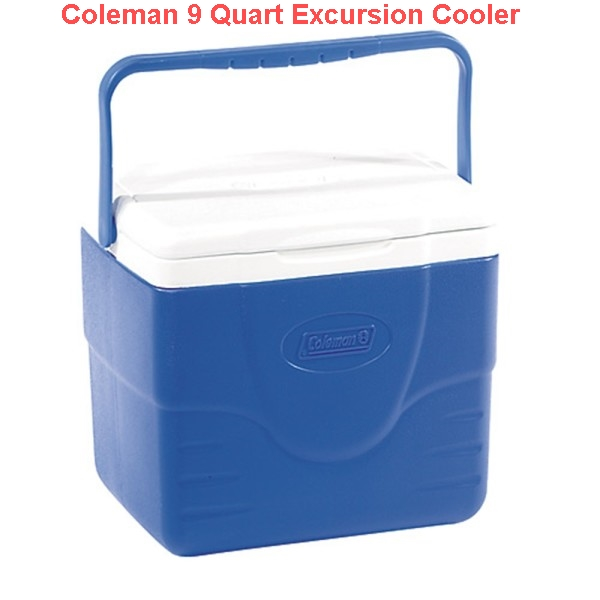 Coleman 9 Quart Excursion Cooler Blue