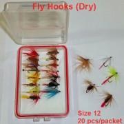Hook Size 12 (20pcs  packet)