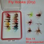 Hook Size 14 (20pcs  packet)