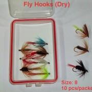 Hook Size 8 (10pcs  packet)