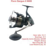 PENN SARGUS II 8000