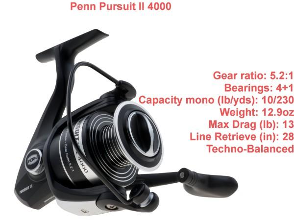 Penn Persuit II 4000