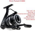 Penn Persuit II 6000