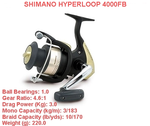 Shimano hyperloop 4000FB