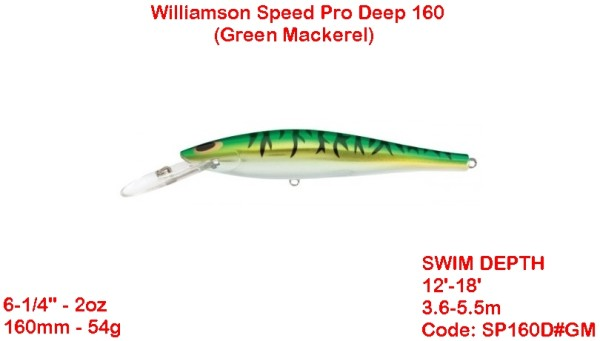 Williamson Speed Pro Deep 16 GM