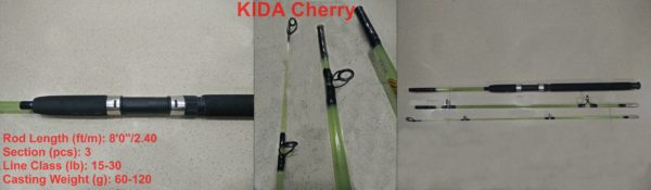Kida Cherry 3 Section