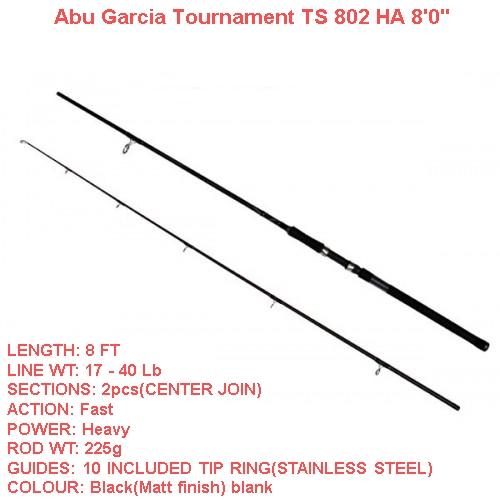 ABU GARCIA TOURNAMENT SX