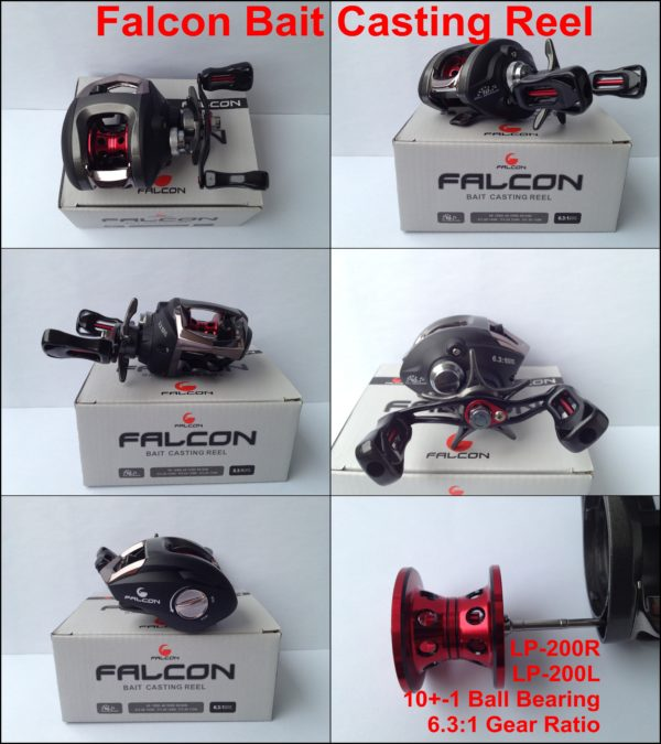 Falcon Bait Casting Reel