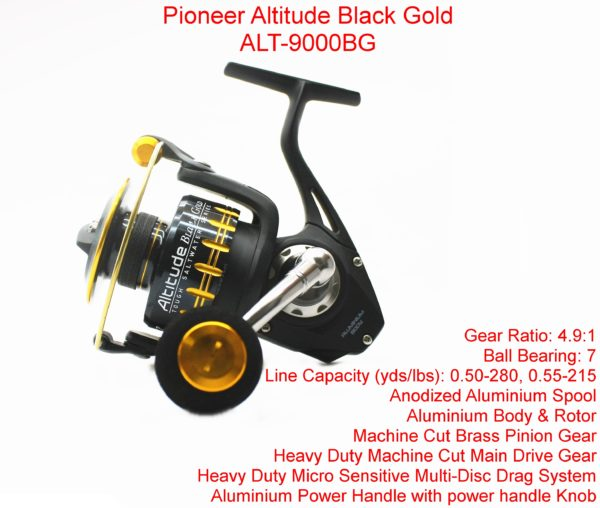 Pioneer Altitude Black Gold