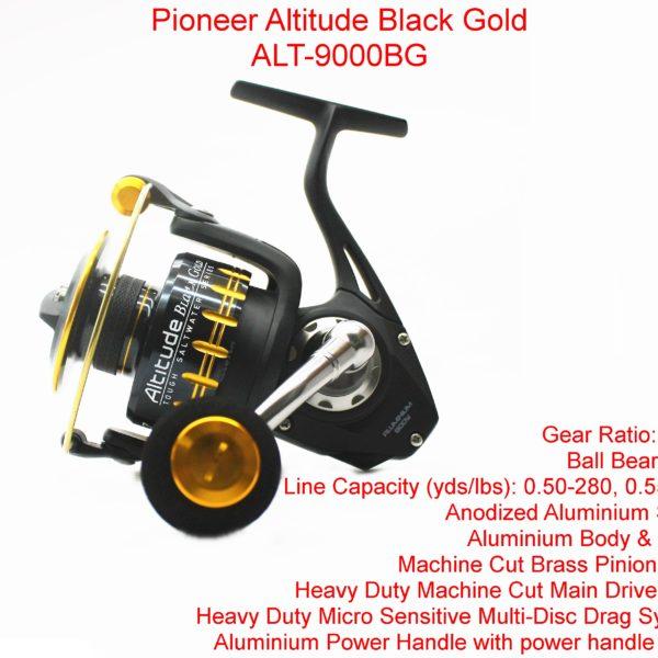 Pioneer Altitude Black Gold