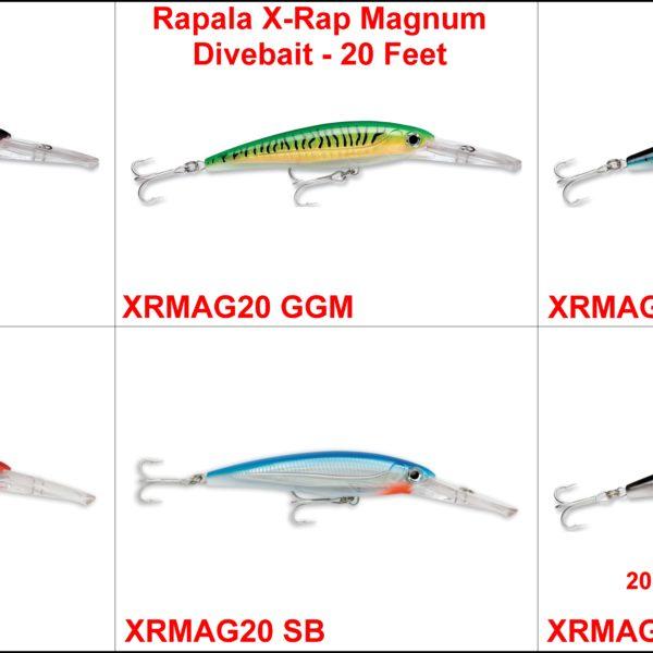Rapala X-Rap MAgnum Divebait – 20 Feet