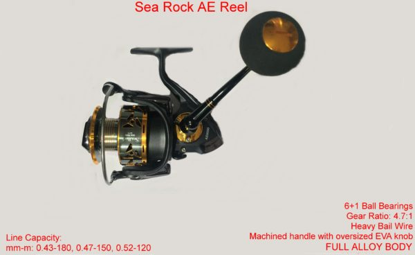 Sea Rock AE Reels