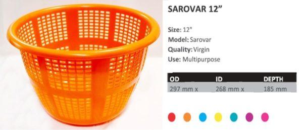 SAROVAR 12 inches