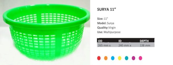 SURYA 11 inches