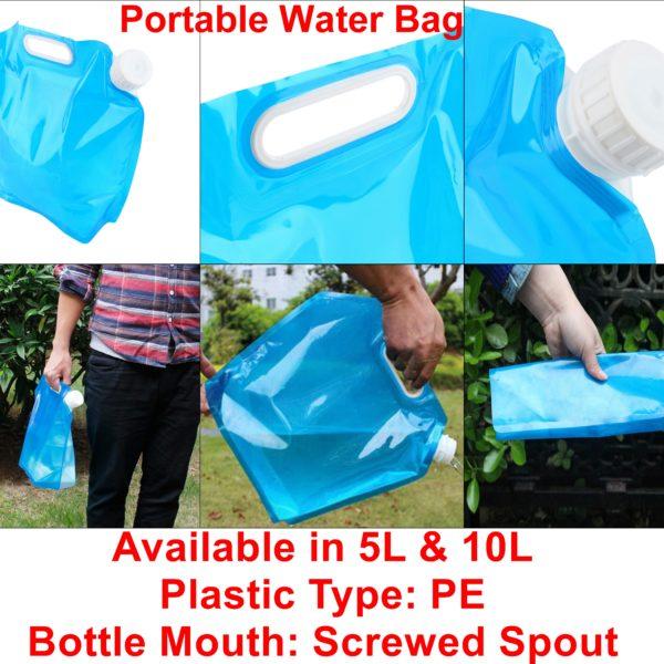 Portable Water Bag