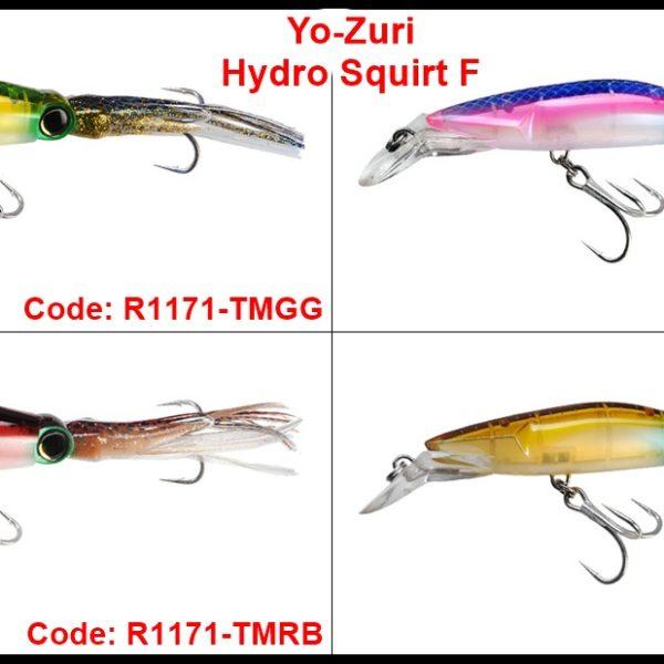 Yo-Zuri Hydro Squirt F