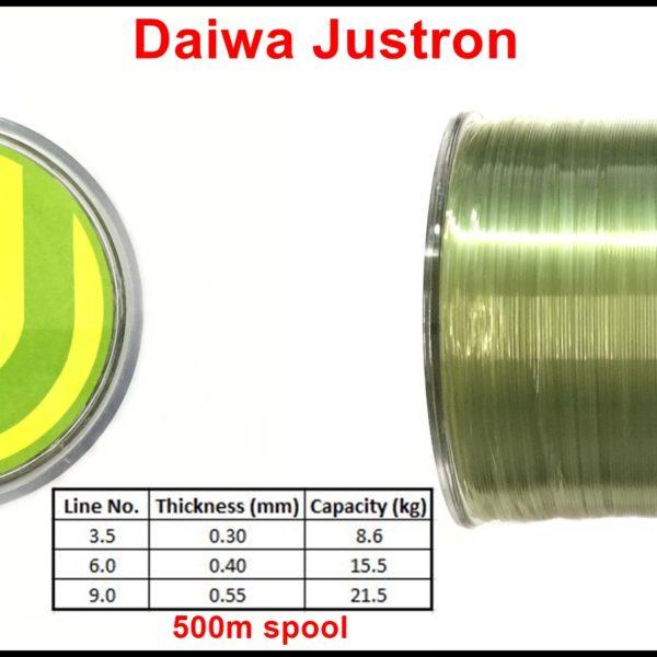 Daiwa Justron Fishing Line