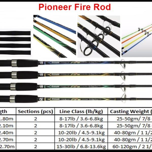 pioneer fire rod