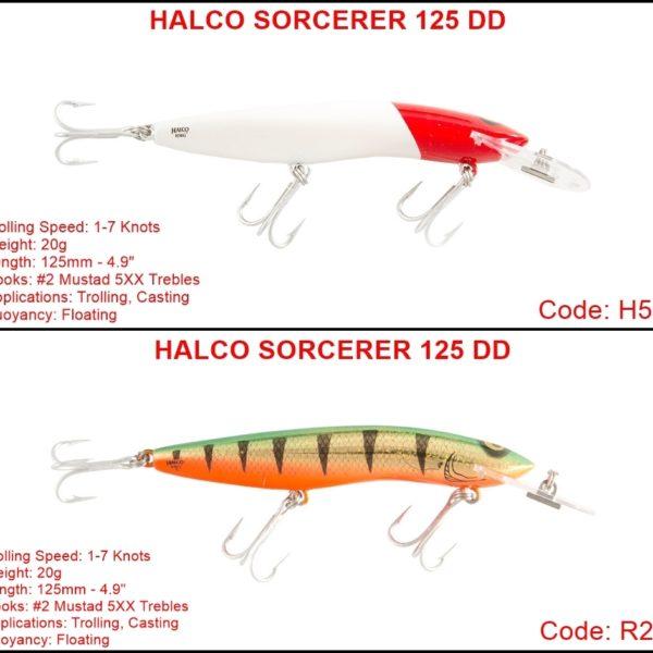 HALCO SORCERER 125 DD