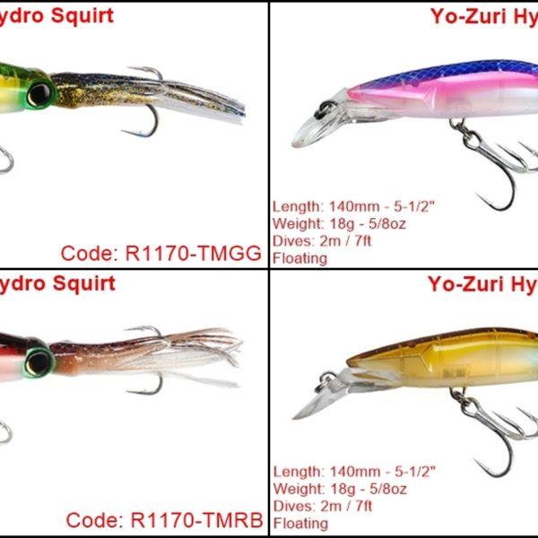 Yo-Zuri Hydro Squirt F 140MM