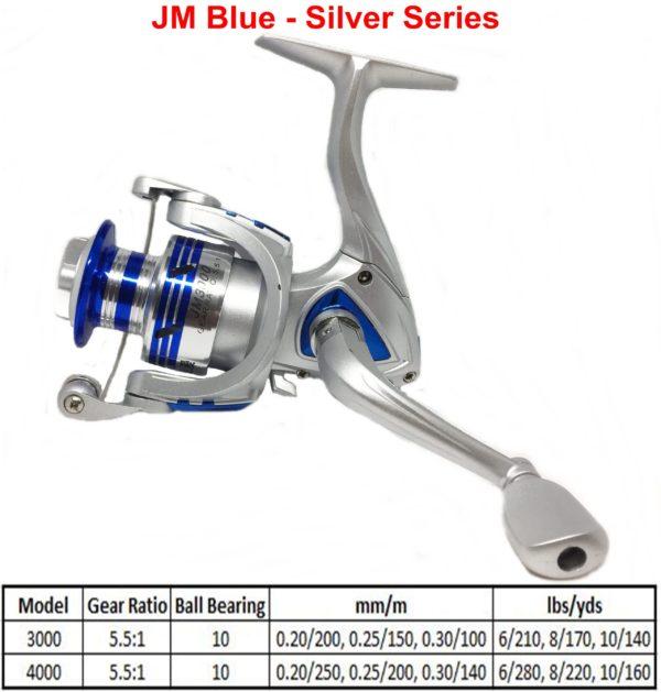 JM Blue – Silver Series