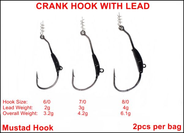 Crank Hook With Lead