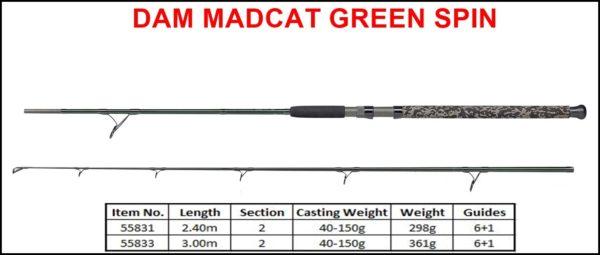 DAM Madcat Green Series