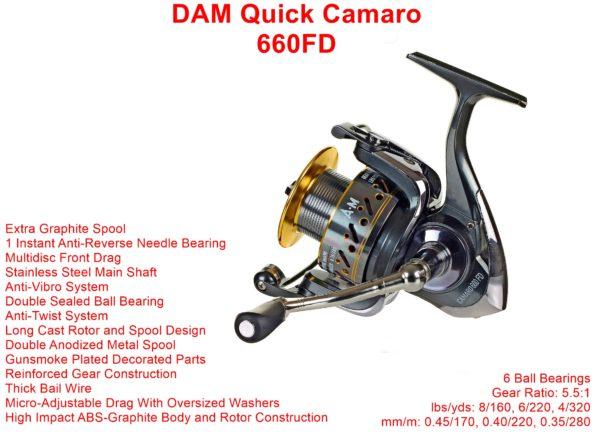DAM Quick Camaro 660FD