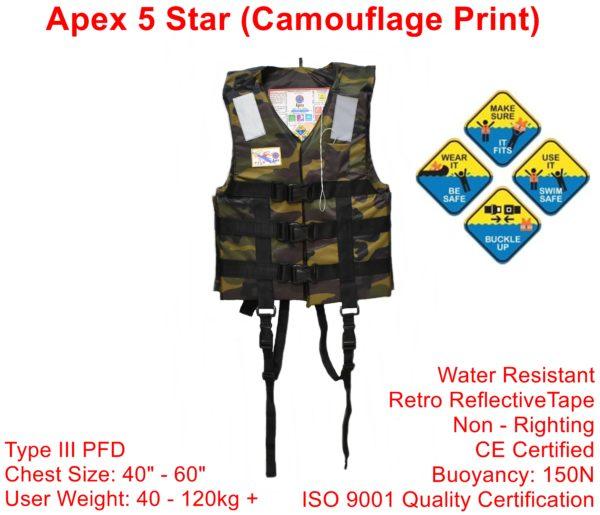 Apex 5 Star Camouflage Print