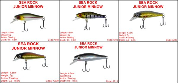 Sea Rock Junior Minnow