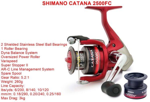 Shimano Catana 2500FC