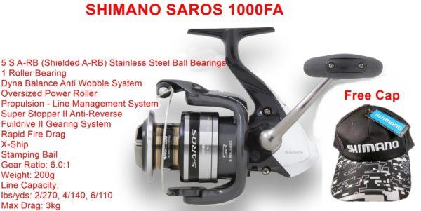 Shimano Saros 1000FA