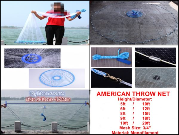 American Throw Net 1